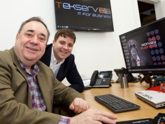 Tekserv celebrates business success with office move