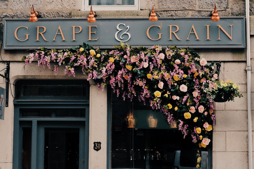 Grape & Grain in running for coveted Thistle Award