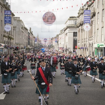 Prepare to Celebrate Aberdeen this weekend