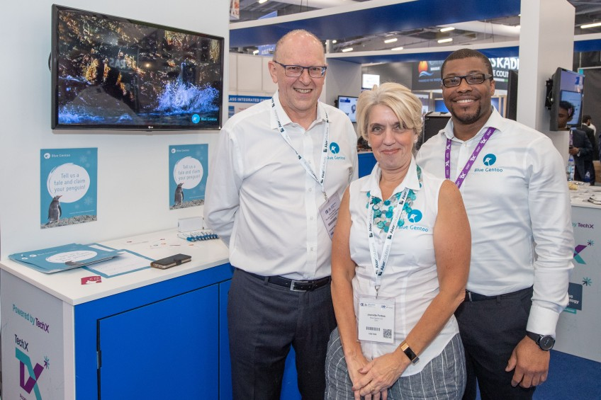 Jeanette Forbes joins pioneering penguins at Blue Gentoo