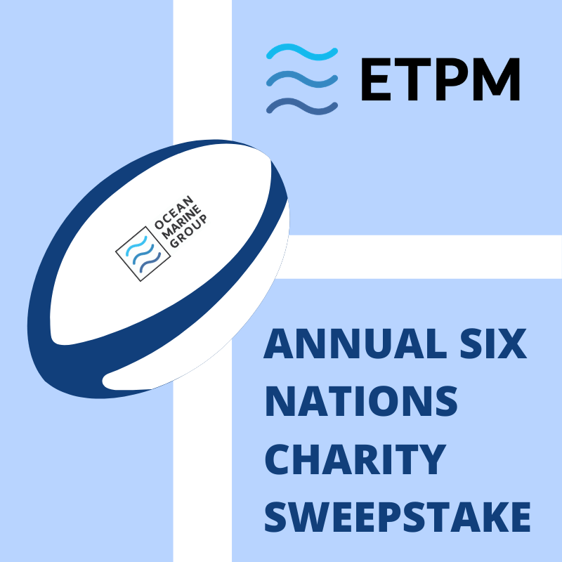 ETPM raises £3,350 in first week of Six Nations Challenge